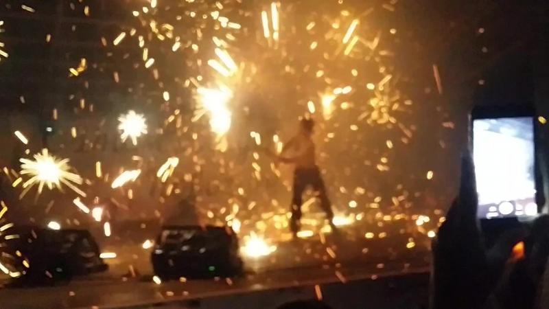 Fireshow. Новомичуринску 50