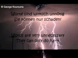 Texas Lightning - Enjoy the Silence - deutsche + englische Lyrics
