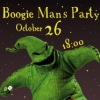 Boogie Man's Party 26/10/12