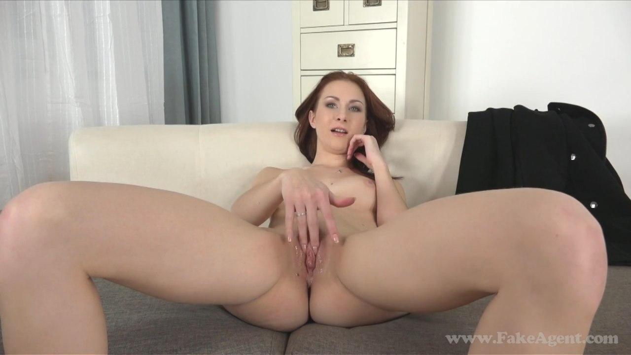 FakeAgent Alice E375 (E409) Русская девушка на порно кастинге