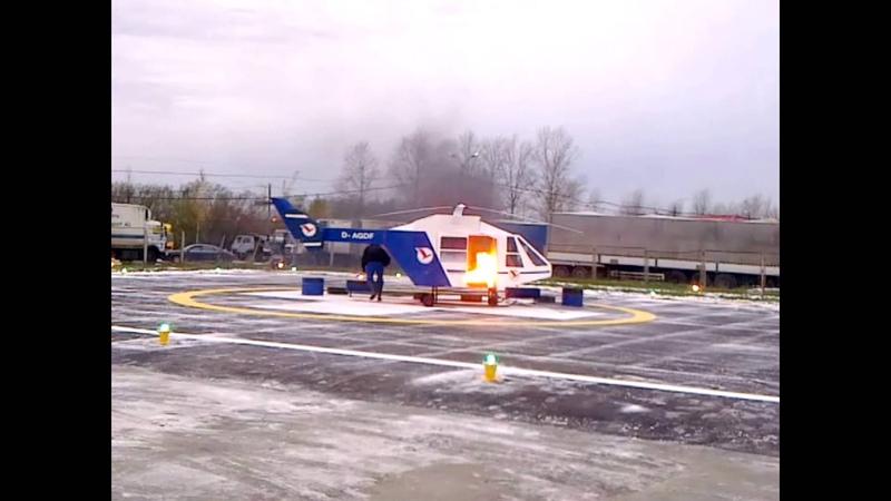 Вертолетные площадки у НИИ Джанелидзе и ДГБ №1.