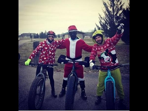 Mad Cow Winter Fat Bike Race 1 2018 with Evo SS Gimbal @ Troy Mountain bike area - OHIO