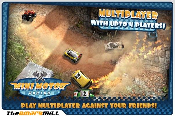 Скачать Mini Motor Racing для android