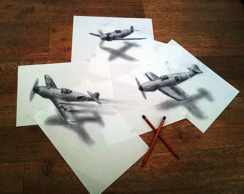 Великолепные 3D рисунки Ramon Bruin K7gvfgIMV3U