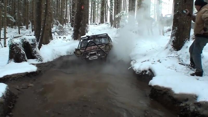 Снежное бездорожье. Snow OFF-ROAD. Сезон открыт