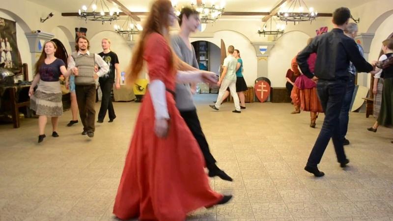 Вечар танцаў Багемская полька
