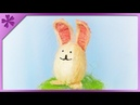 DIY How to make Easter bunny out of sisal (ENG Subtitles) - Speed up 472