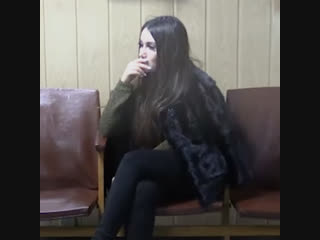 Кира Майер в Пресненском суде Москвы