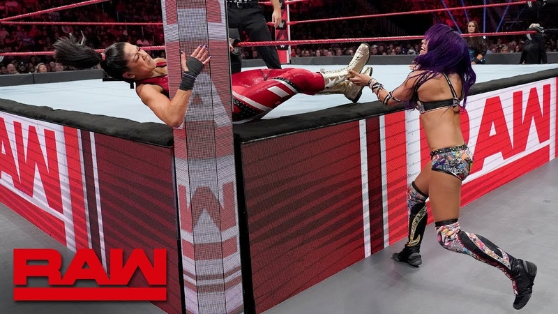 SBMKV_Video | Sasha Banks vs. Bayley - Winner Earns the Final Place on Team Raw: Raw, Nov. 12, 2018