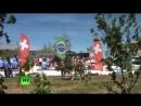 Карнавал дружбы народов в аэропорту Платов