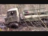 OFF Road Trucks 6x6 Ultimate Mudding in Siberia Army Trucks ZIL131 vs GAZ66