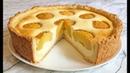 Невероятно Вкусный ТВОРОЖНЫЙ ПИРОГ С ПЕРСИКАМИ Просто Быстро и Очень Полезно Peach Pie