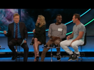 The cast of Aquaman is on ConanCon