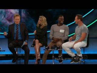 The cast of Aquaman is on ConanCon