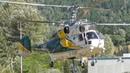 Kamov Ka-32 Engine Startup and Takeoff