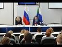 Пресс конференция губернатора Хабаровского края Сергея Фургала