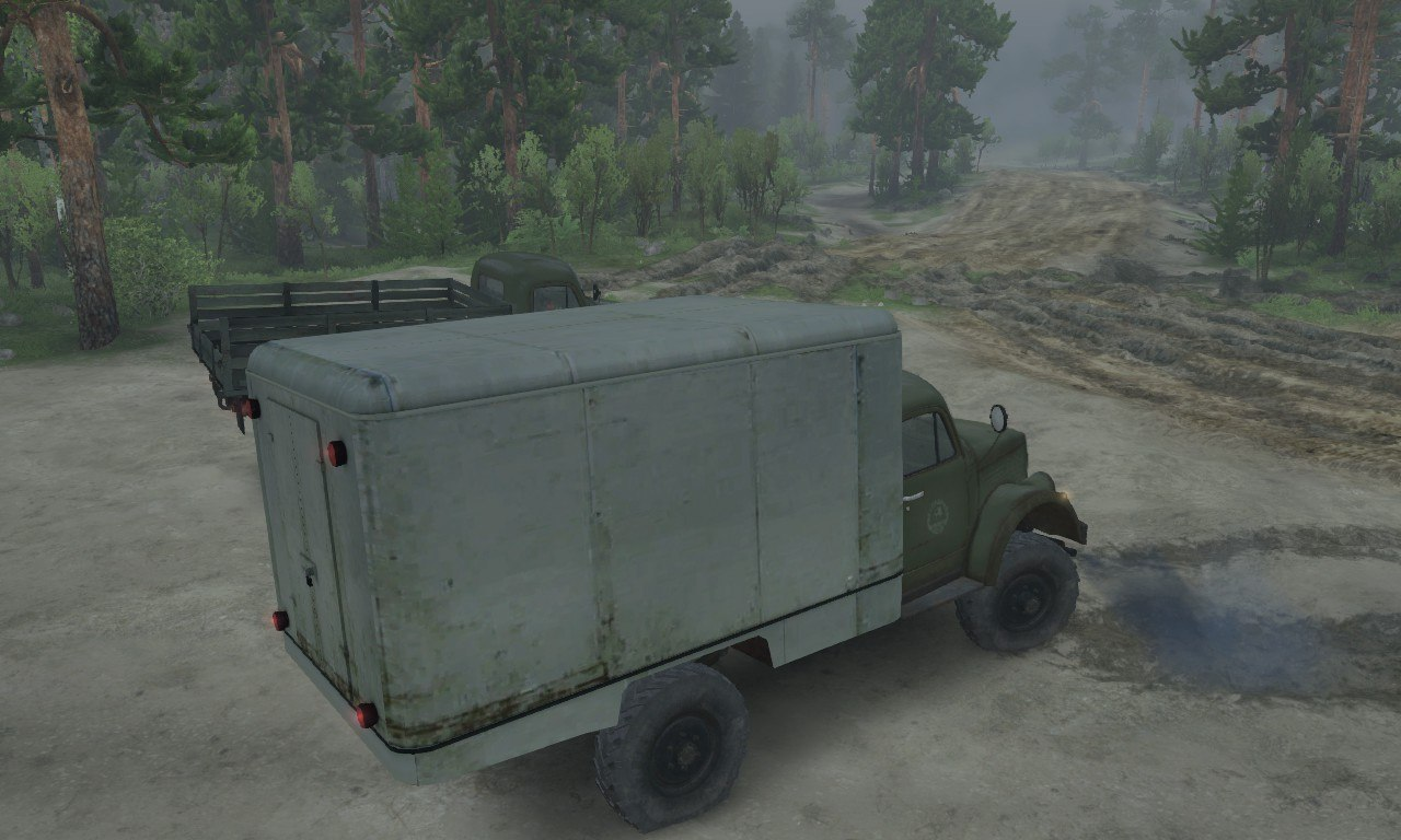 Газ-63 и Газ-63м для 03.03.16 для Spintires - Скриншот 2