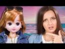 BersReview РОДИЛА В 11 ЛЕТ Японская Барби Licca Bijou Ocean carat Takara Tomy Обзор и распаковка куклы