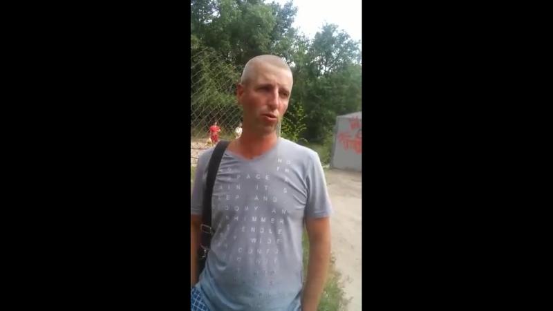Оцевидец пожара в центре Белгорода 23.06.2018