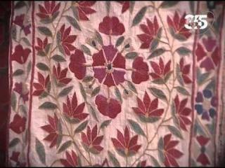 Декоративные вышивки Таджикистана и Узбекистана.