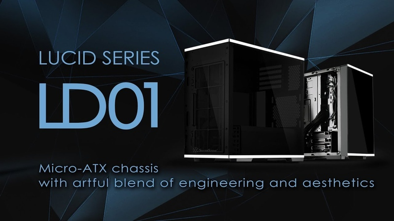 SilverStone Lucid Series LD01 Micro-ATX chassis