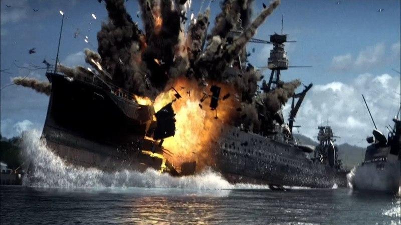Японцы бомбят Перл Харбор Часть 1 Перл Харбор 2001