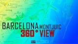 BARCELONA (Montjuic) 360 view JUNE 2018