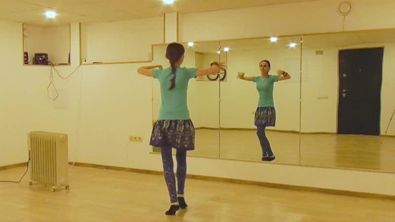 ATS® Fast Moves Arabic Hip Twist 1 2 Turn @ трайбл танцевальный словарь