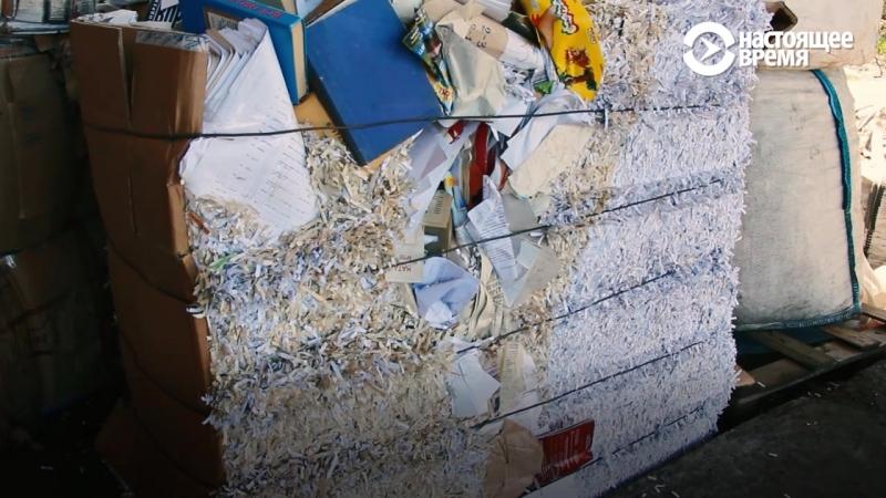 """""""Сбормобиль"""" в Петрозаводске собирает отсортированный мусор"""