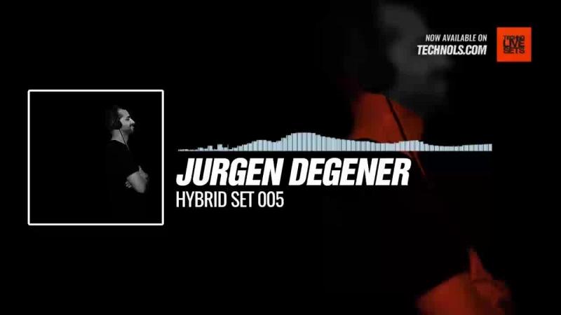 Listen Techno music with Jurgen Degener Hybrid Set 005 Periscope