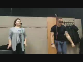 Пётр Брок и Оmirka, репетиция проекта БрокколиBAND