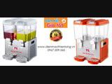 Máy làm lạnh nước trái cây hoa quả 2 ngăn LYJ18Lx2