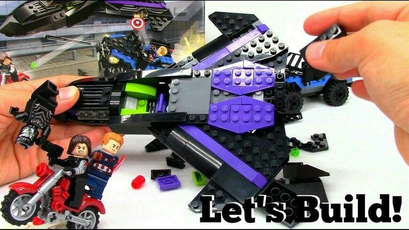 LEGO Black Panther Pursuit 76047 - Let's Build!