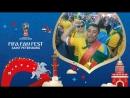 FIFA Fan Fest: миллионный болельщик готовится к игре Бразилии