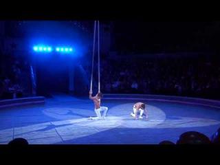 Дуэт «Джаст ту мен» (Украина) - воздушные гимнасты на ремнях