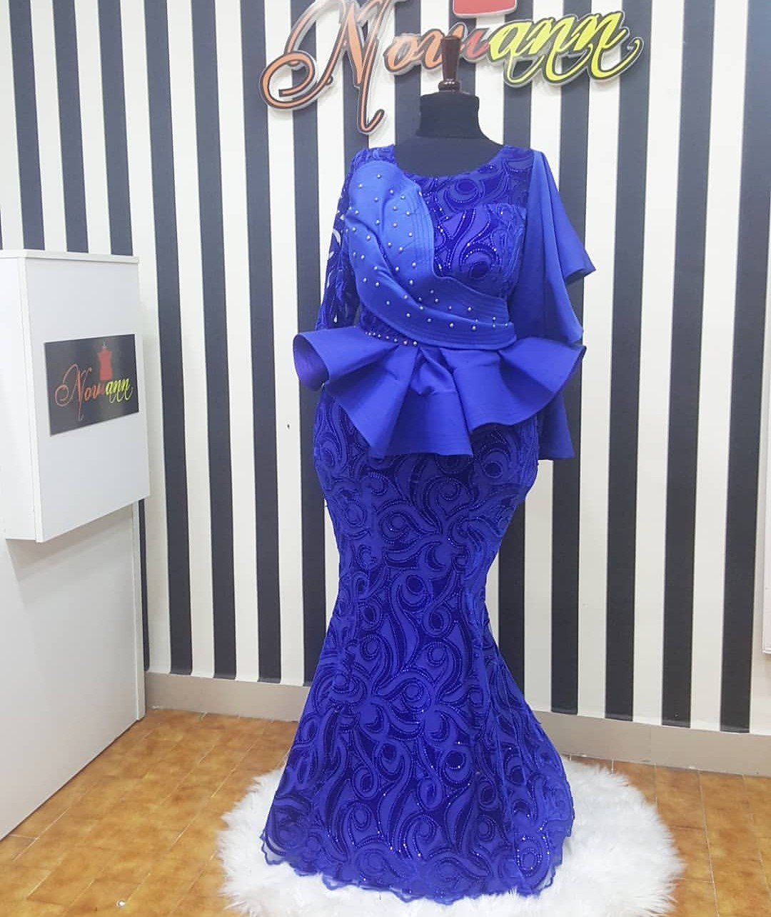 2019 LACE ASO EBI & SKIRTS TO EMPHASIZE YOUR BODY BEAUTY! 3