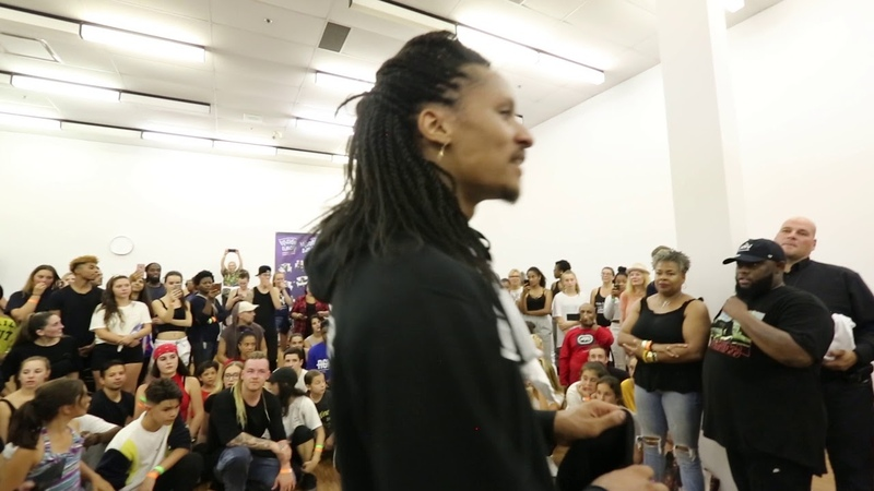 LES TWINS IN MONTREAL   END OF CLASS CYPHER   Shot by Sandy Lee