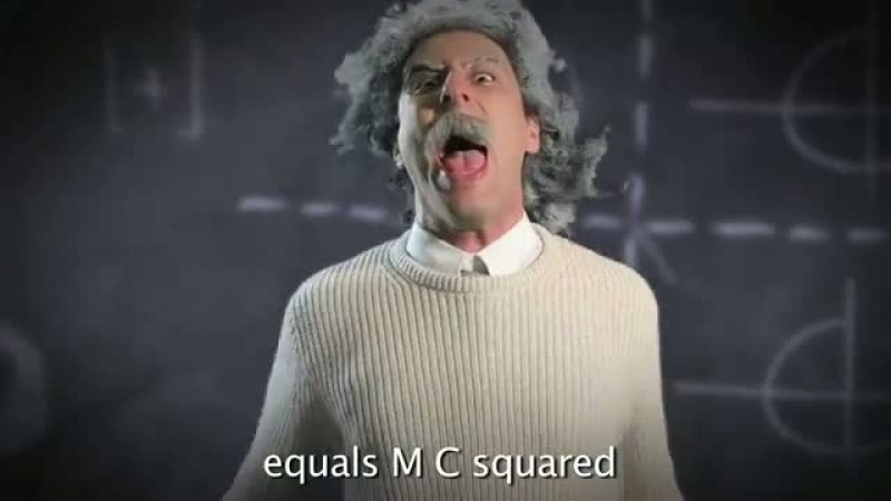 [HD] Albert Einstein vs Stephen Hawking - Epic Rap Battles of History (Эйнштейн против Хокинга - русские субтитры)