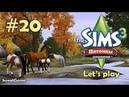 Давай играть в Симс 3 Питомцы 20 Веселые игры