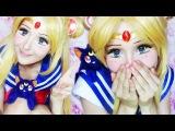 Sailor Moon make-up transformation by Anastasiya Shpagina