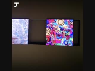 Samsung показала огромный модульный телевизор The Wall