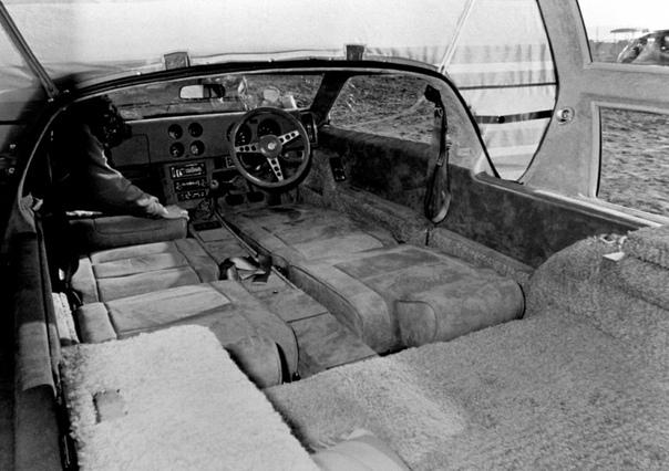 Toyota RV-2 японский концепт-кар 1972 года
