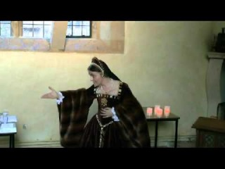 Sarah Moris talks about Anne Boleyn and her book, 'Le Temps Viendra:a novel of Anne Boleyn': 2013