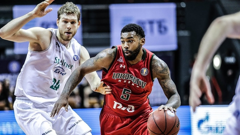 VTBUnitedLeague • Lokomotiv-Kuban vs Stelmet Zielona Gora Highlights Jan 6, 2019