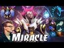 Miracle- Invoker Divine Top Rank Pro Gameplay - Dota 2