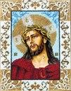 Адрес фото. http://eva.ru/RcY6.  15.11.2009 продается икона, вышитая бисером.  Иисус в терновом венце.