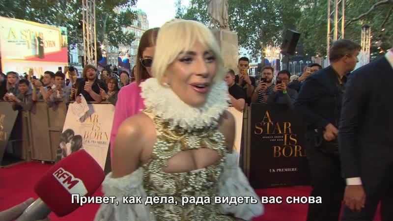 Леди Гага — Интервью для «RTL» (RUS SUB)