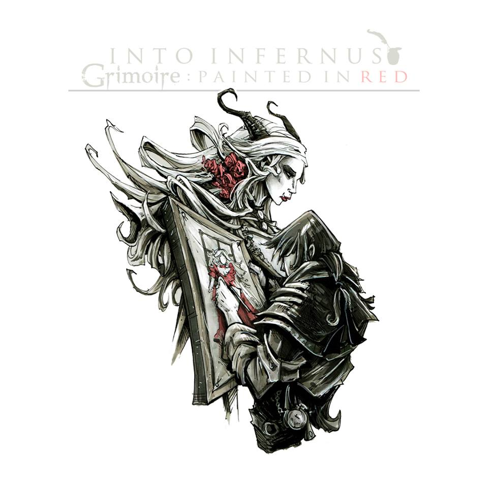 Into Infernus - Painted In Red [single] (2015)