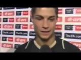 Криштиану Роналду дал интервью после матча