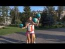 Juggler on GyroScooter Promo
